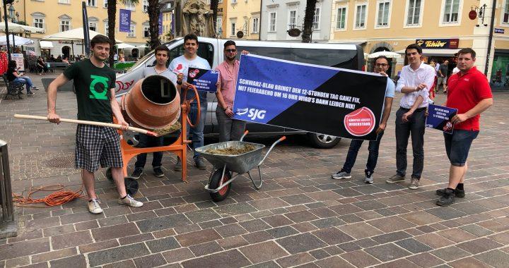 SJG Kärnten wehrt sich gegen den 12-Stunden-Tag